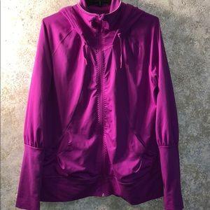 Adidas XL zip tech fleece warm up jacket. Perfect.
